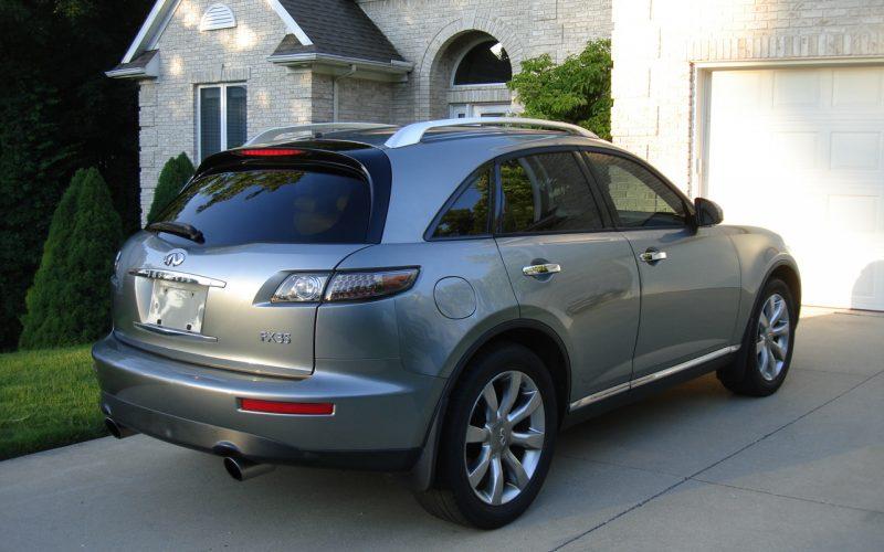 2007 INFINITY  FX35  AWD 010