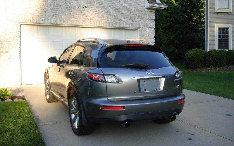 2007 INFINITY  FX35  AWD 011