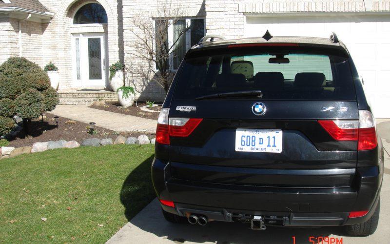 2007 BMW X3 SI V6 3.0L 007