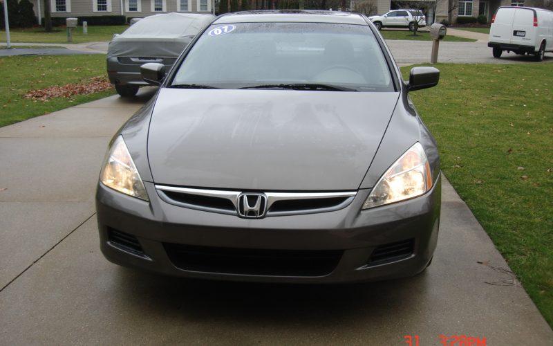 2007 HONDA ACCORD EX-L V6 3.0L 001