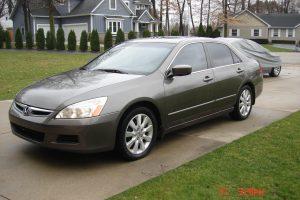 2007 HONDA ACCORD EX-L V6 3.0L 002