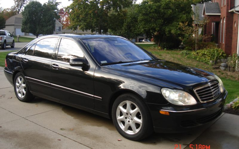 2005 MERCEDES BENZ S500 4 MATIC 004