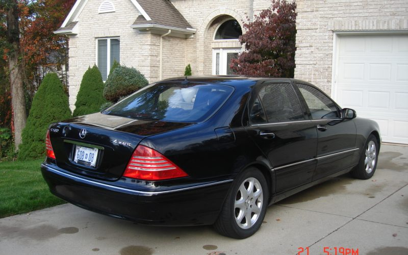 2005 MERCEDES BENZ S500 4 MATIC 006