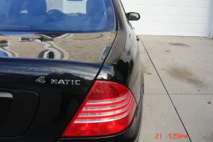 2005 MERCEDES BENZ S500 4 MATIC 007