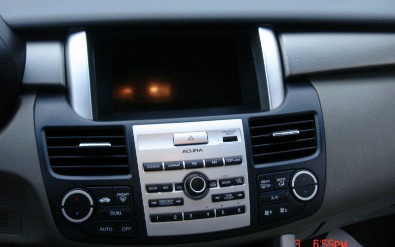2009 ACURA RDX AWD DVD 015