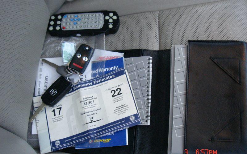 2009 ACURA RDX AWD DVD 021