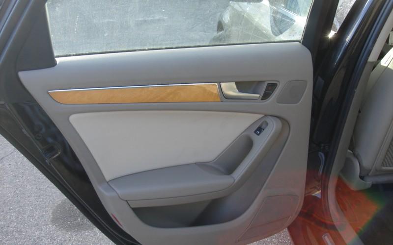 2009 AUDI A4 AWD  2.0L 050