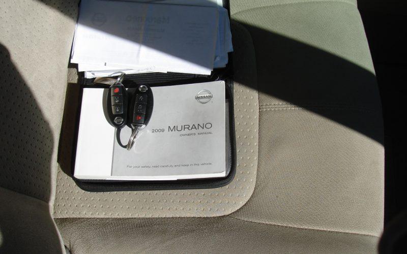 2009 NISSAN MURANO  AWD 024