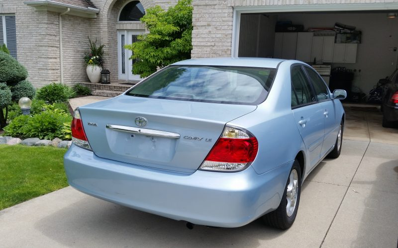 2006 TOYOTA CAMRY LE 035