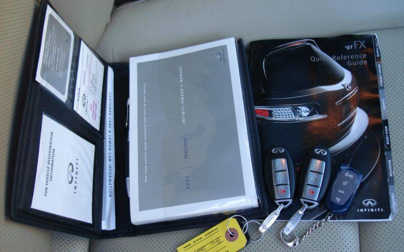 2007 INFINITY  FX35  AWD 029