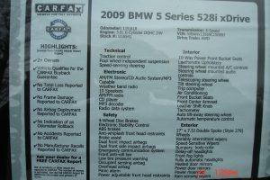 2009 BMW 528XI AWD V6 069