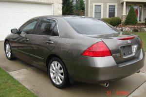 2007 HONDA ACCORD EX-L V6 3.0L 004