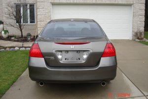 2007 HONDA ACCORD EX-L V6 3.0L 006