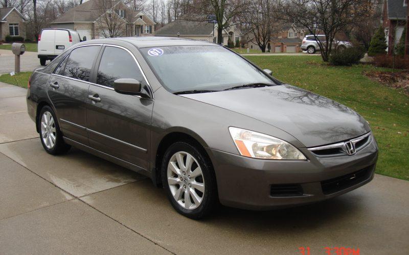 2007 HONDA ACCORD EX-L V6 3.0L 008