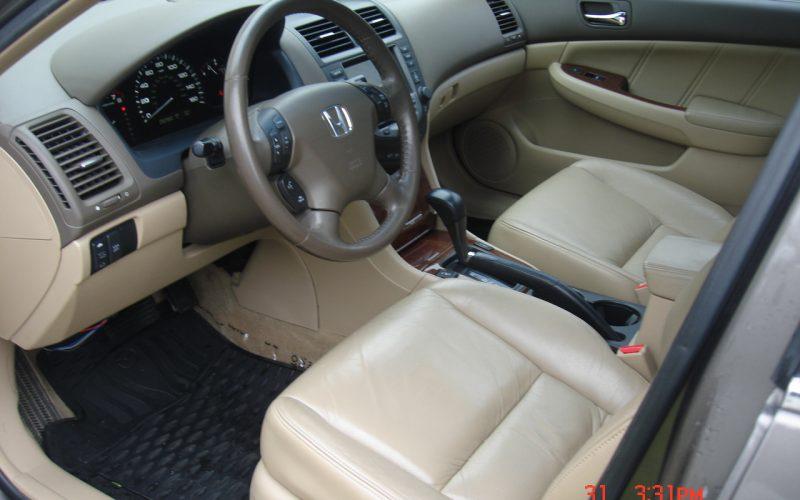 2007 HONDA ACCORD EX-L V6 3.0L 010