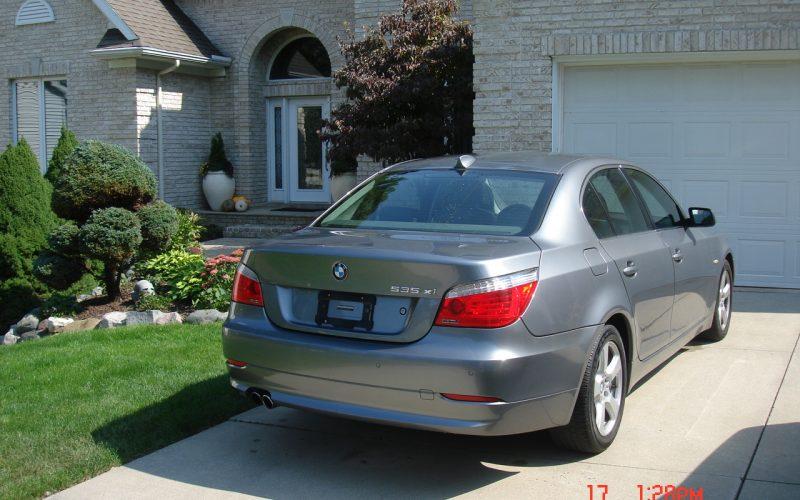2008 BMW 535 XI AWD NAVIGATION 005