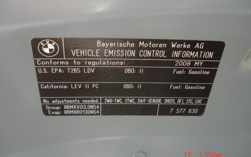 2008 BMW 535 XI AWD NAVIGATION 025