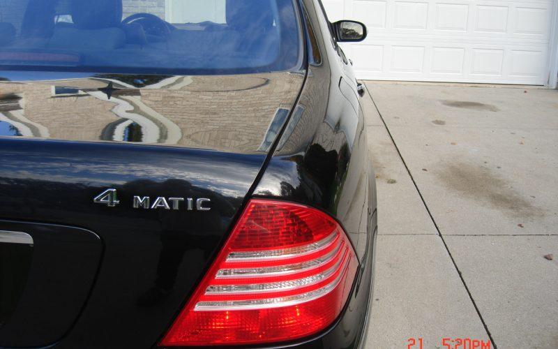 2005 MERCEDES BENZ S500 4 MATIC 007